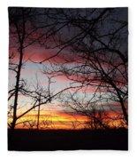 Silhouetted Fleece Blanket