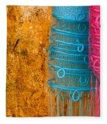 Silk Fabric 05 Fleece Blanket