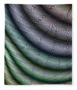 Silk Fabric Fleece Blanket
