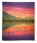 Silky Skies Fleece Blanket