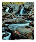 Silky Water 3 Fleece Blanket
