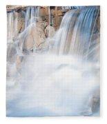 Silky Waterfall Splash Fleece Blanket