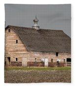 Silo And Barn Fleece Blanket