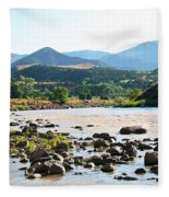 Silt Colorado Fleece Blanket