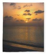 Silver Sea Fleece Blanket