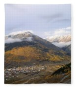 Silverton Colorado Fleece Blanket
