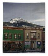 Silverton Street Scene Fleece Blanket