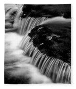 Silvery Falls Fleece Blanket