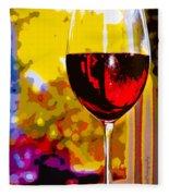 Wine - Simple Life Fleece Blanket
