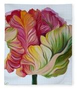 Simple Tulip Fleece Blanket