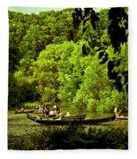 Simpler Times - Central Park - Nyc Fleece Blanket