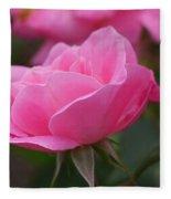 Simplicity Floribunda Rose Fleece Blanket