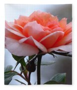 Simply Rose  Fleece Blanket