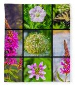 Simply Summer Wildflowers Fleece Blanket