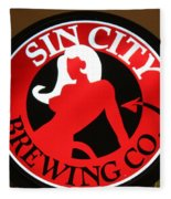Sin City Brewing  Fleece Blanket