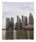 Singapore's Marina Bay Fleece Blanket