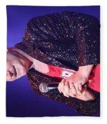 Singer Andy  Bell Fleece Blanket