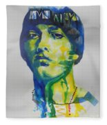 Rapper  Eminem Fleece Blanket