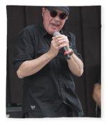 Singer Mitch Ryder Fleece Blanket