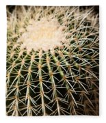 Single Cactus Ball Fleece Blanket