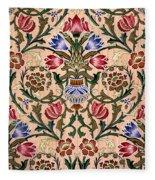 Single Stem Wallpaper Design, 1905 Fleece Blanket