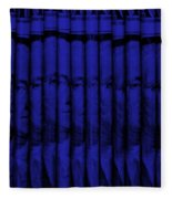 Singles In Blue Fleece Blanket