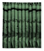 Singles In Light Green Fleece Blanket