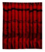 Singles In Red Fleece Blanket