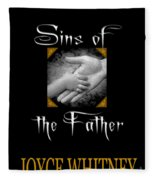 Sins Of The Father Book Cover Fleece Blanket