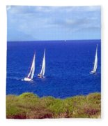 Sint Maarten Regatta Fleece Blanket