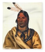 Sioux Chief 1883 Fleece Blanket