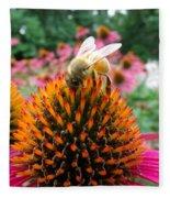 Sip Of Nectar Fleece Blanket