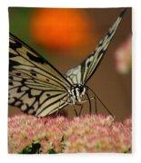 Sip Of The Nectar Fleece Blanket