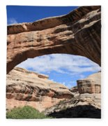 Sipapu Bridge - Utah Fleece Blanket