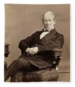 Sir Charles Wheatstone (1802-1875) Fleece Blanket
