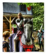 Sir Lancelot Du Lac Fleece Blanket