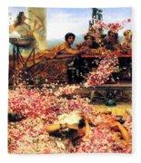 Sir Lawrence Alma Tadema Fleece Blanket