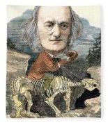 Sir Richard Owen (1804-1892) Fleece Blanket