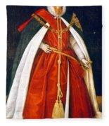 Sir Robert Devereux (1566-1601) Fleece Blanket