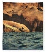 Siren Rocks II Fleece Blanket