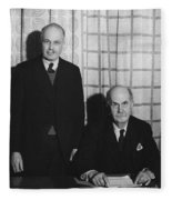 Sirs William And Lawrence Bragg Fleece Blanket