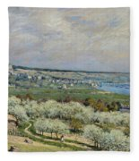 Sisley Saint-germain, 1875 Fleece Blanket