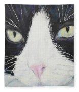 Sissi The Cat 2 Fleece Blanket