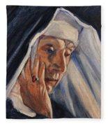 Sister Ann Fleece Blanket