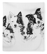 Six Packed Fleece Blanket