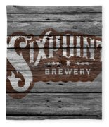 Sixpoint Brewery Fleece Blanket