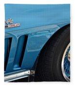 Sixty Six Corvette Roadster Fleece Blanket