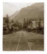 Skagway Alaska H. C. Bailey Photographer June 15 1898 Fleece Blanket