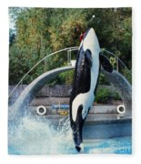 Skana Orca Vancouver Aquarium 1974 Fleece Blanket