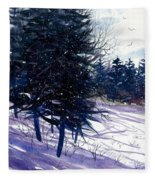 Ski Hill Fleece Blanket